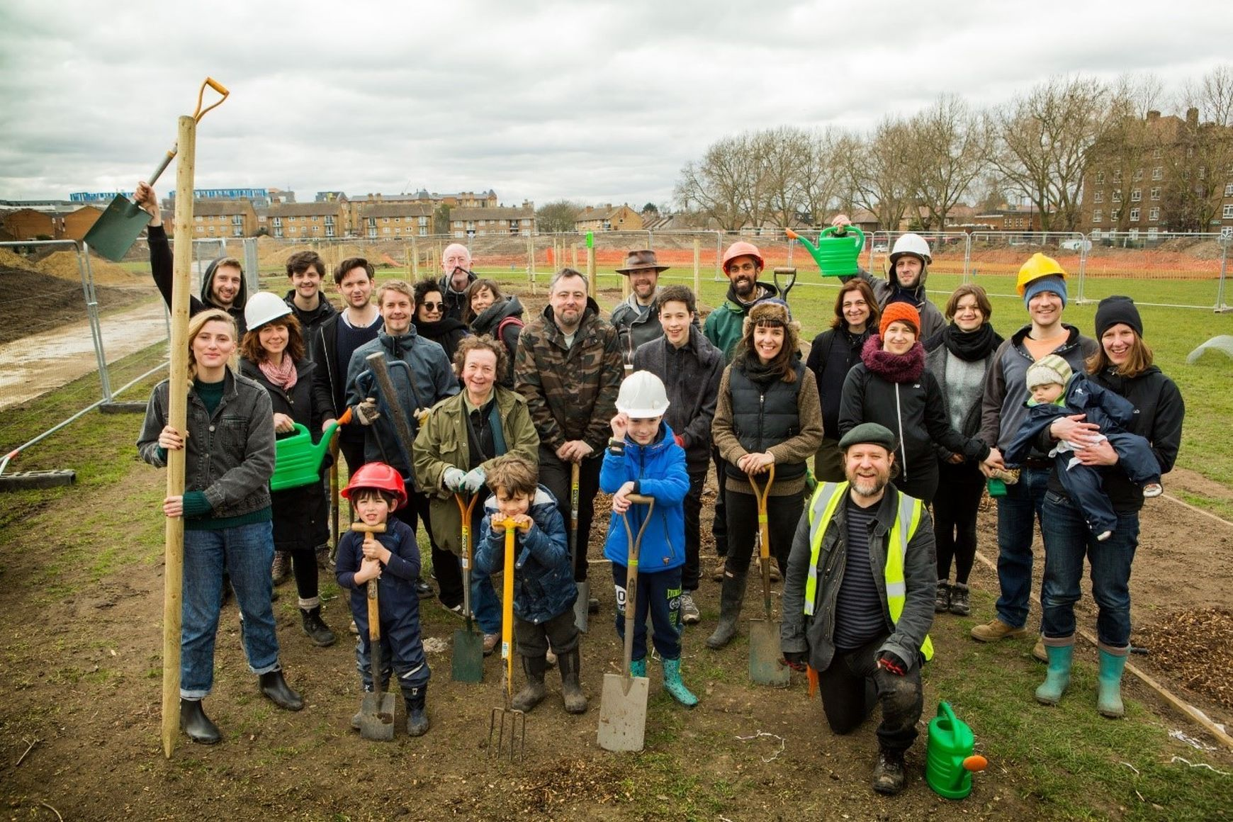 The Orchard Project Group Planting