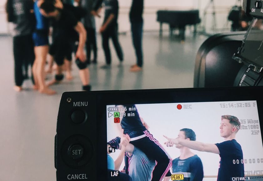 Scottish Ballet Arts Filming Creation Of A Work In A Week  Photo By Christina Riley